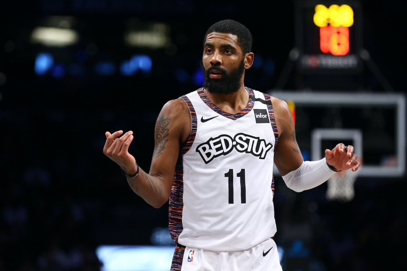 Kyrie Irving Talks About His Mentor Kobe Bryant on Instagram Live