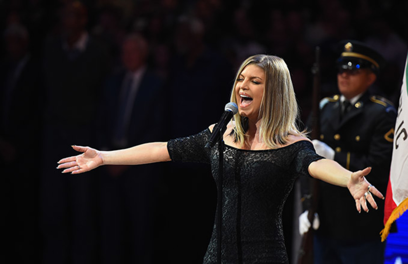 This is a photo of Fergie.