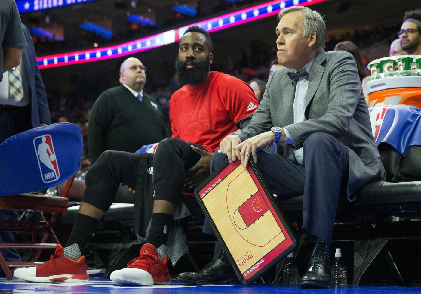 Houston Rockets Mike D'Antoni James Harden 2016