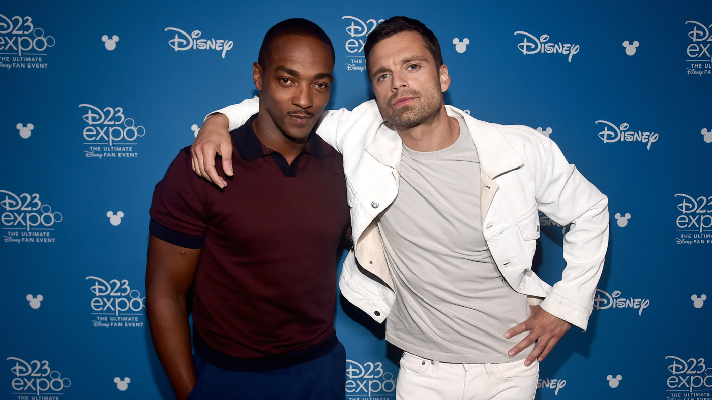 Anthony Mackie and Sebastian Stan of 'The Falcon and The Winter Soldier.'