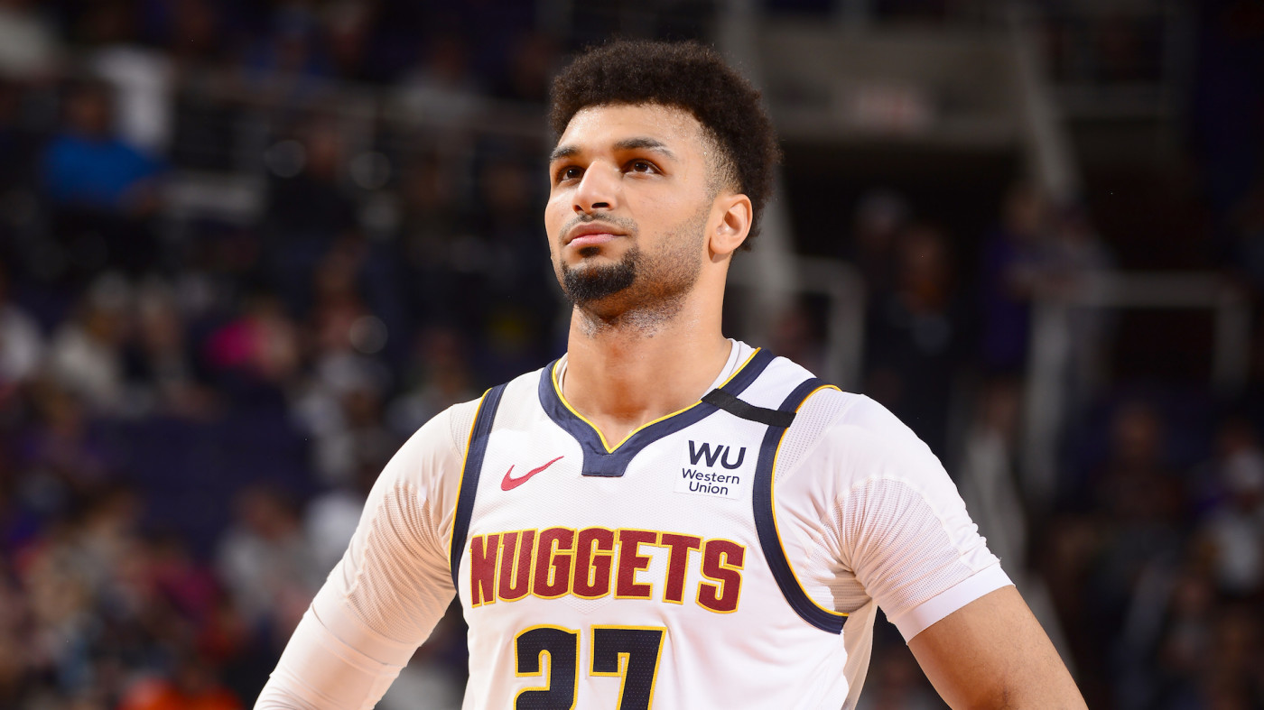 Jamal Murray #27 of the Denver Nuggets