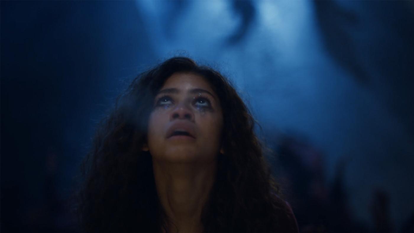 Zendaya as Rue in HBO's 'Euphoria'