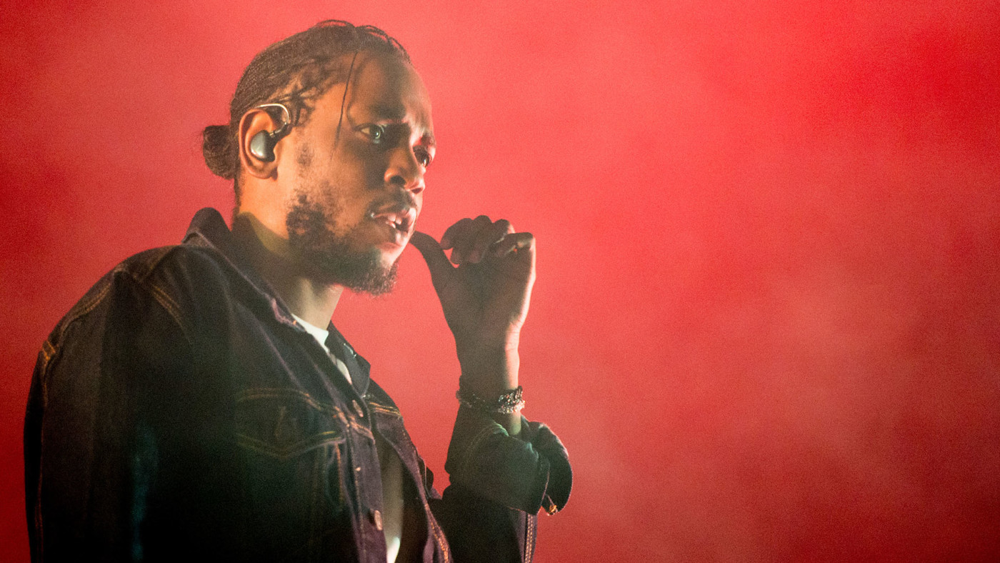 This is a photo of Kendrick Lamar