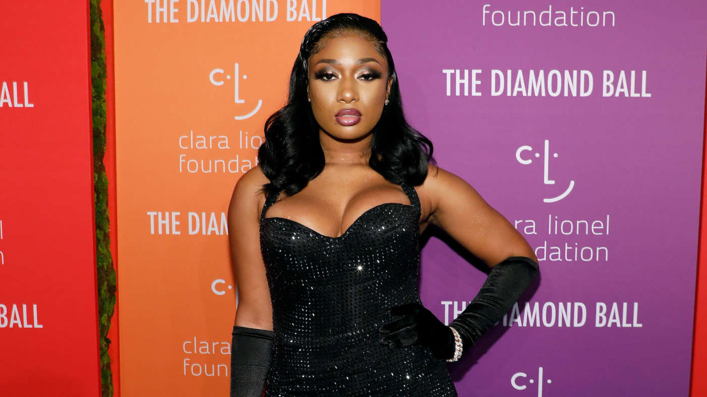 Megan Thee Stallion attends the 5th Annual Diamond Ball.