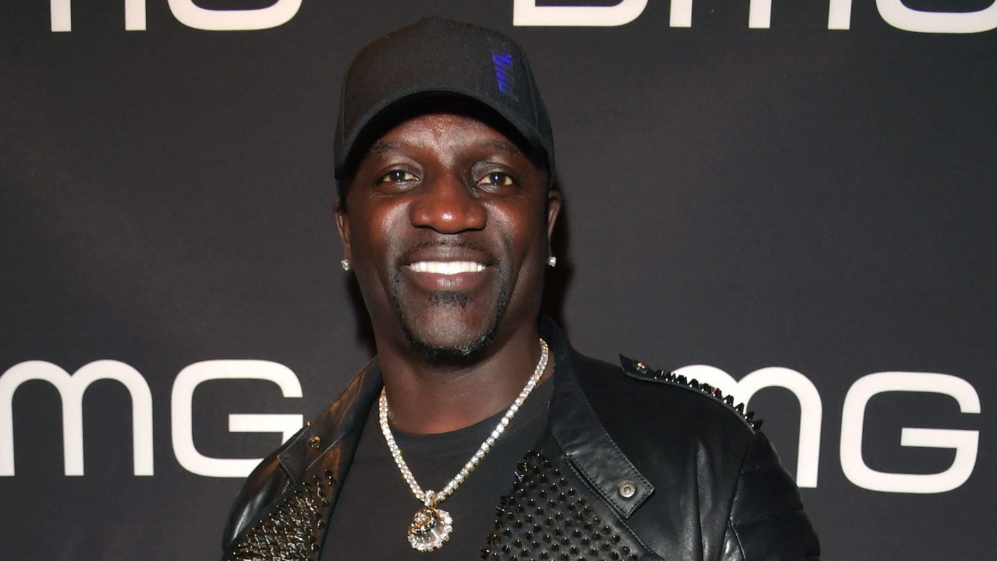 Akon attends the BMG Pre-Grammy Party 2020 at Troubadour