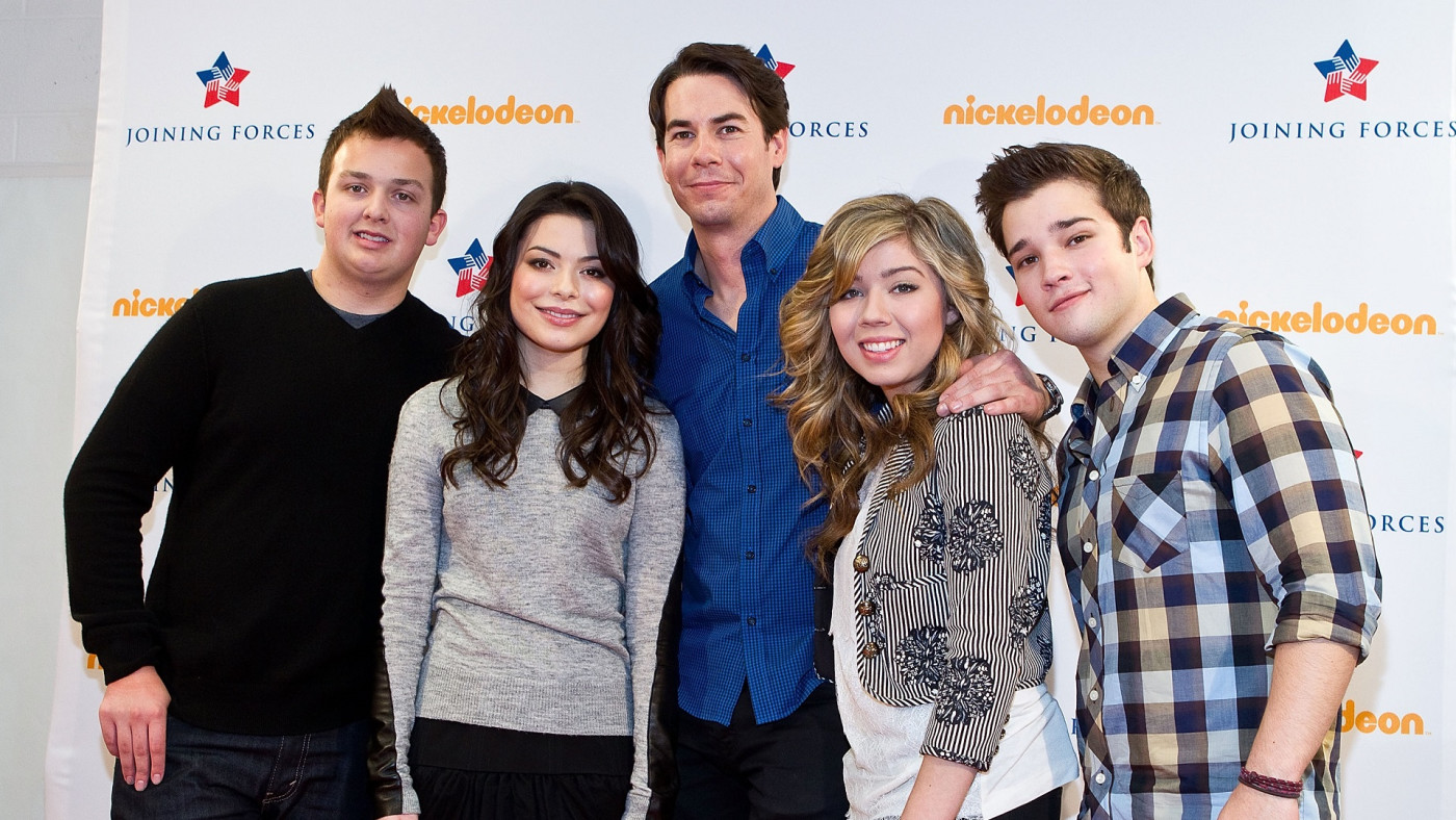 The cast of 'iCarly'