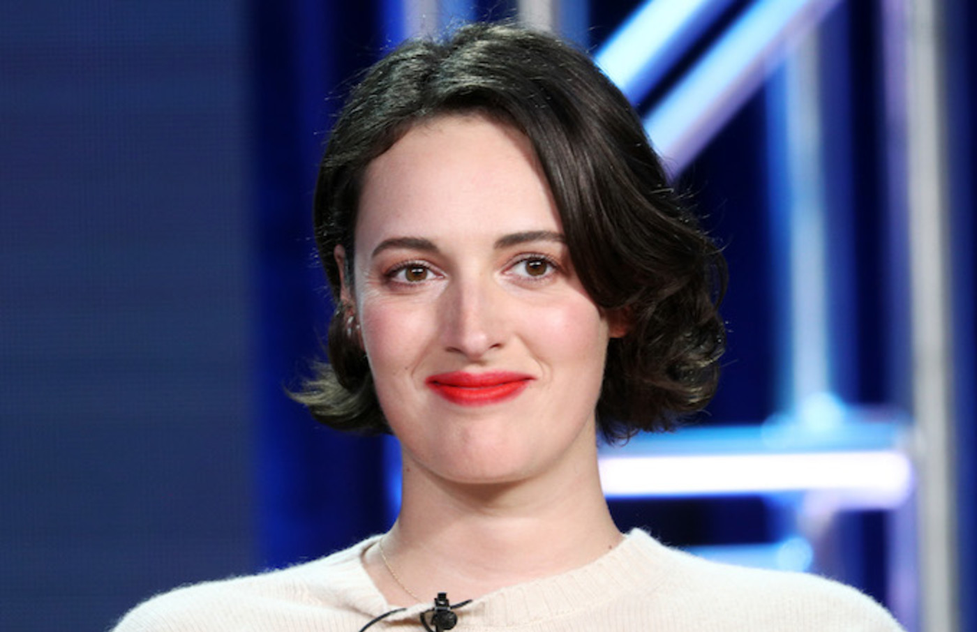 Phoebe Waller-Bridge speaks during the Amazon Prime Video Visionary Voices segment.