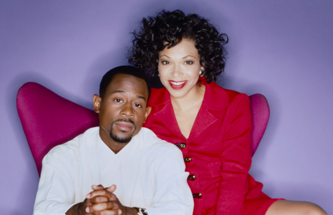 Martin Lawrence and Tisha Campbell