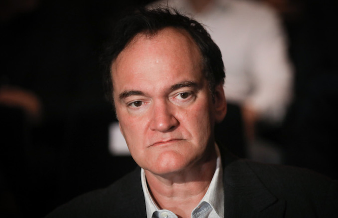 Quentin Tarantino during the closing ceremony of Energa Camerimage International Film Festival.