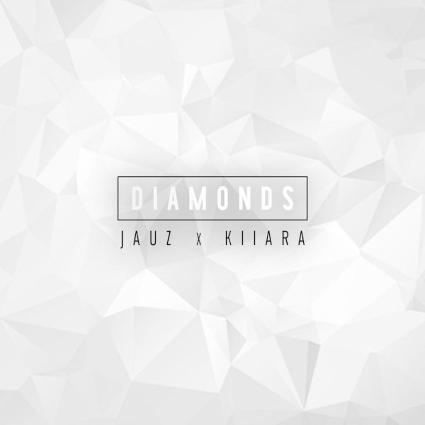 "Single art for Kiiara and Jauz song ""Diamonds"""