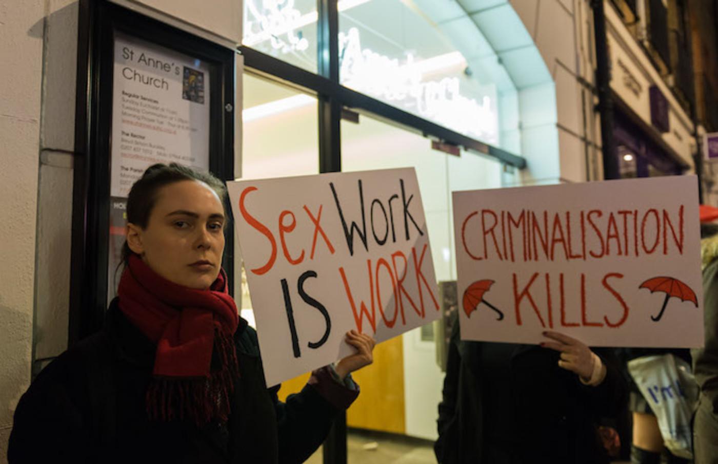 Sex work legalization signs