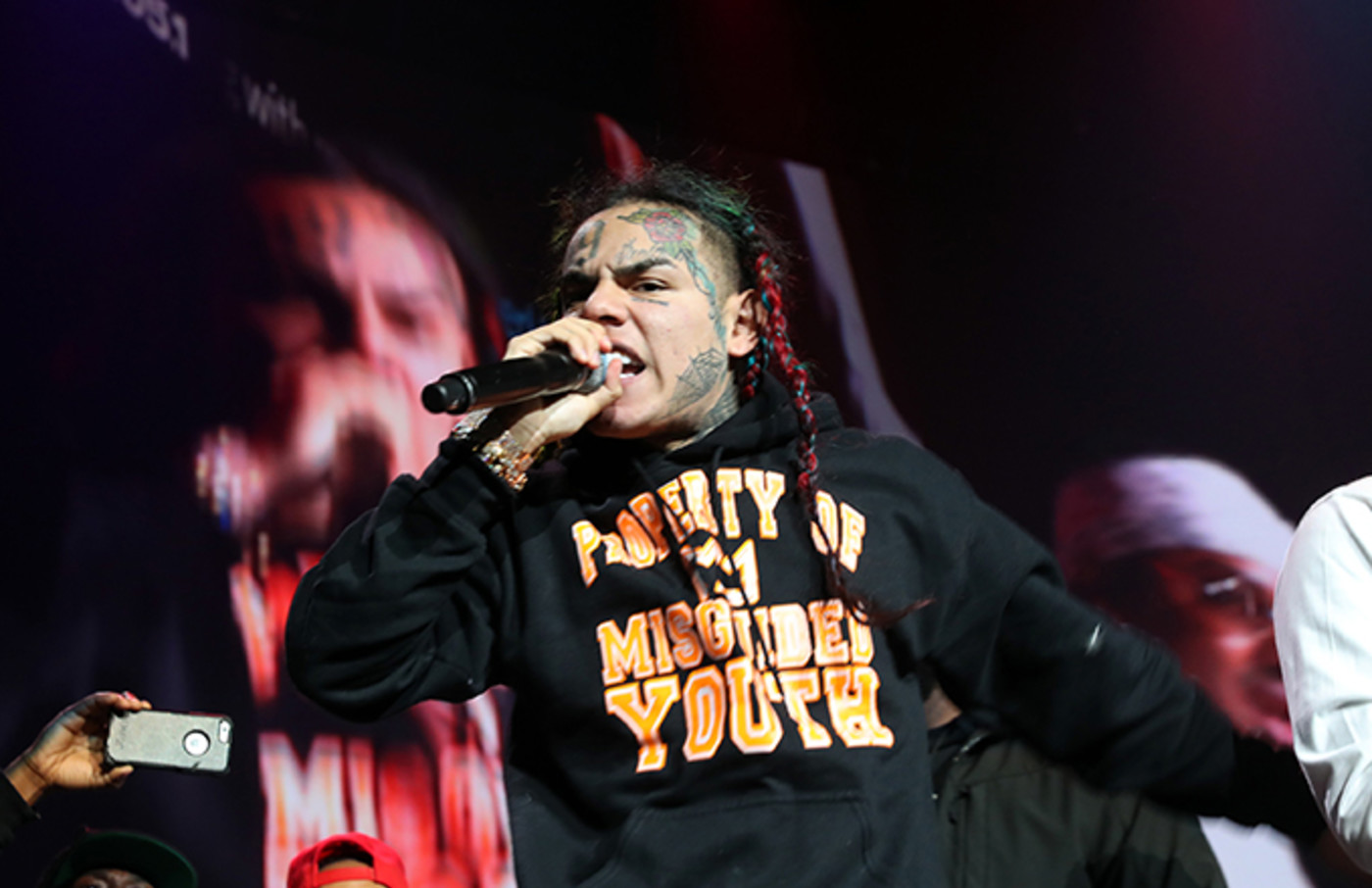 This is a photo of 6ix9ine.
