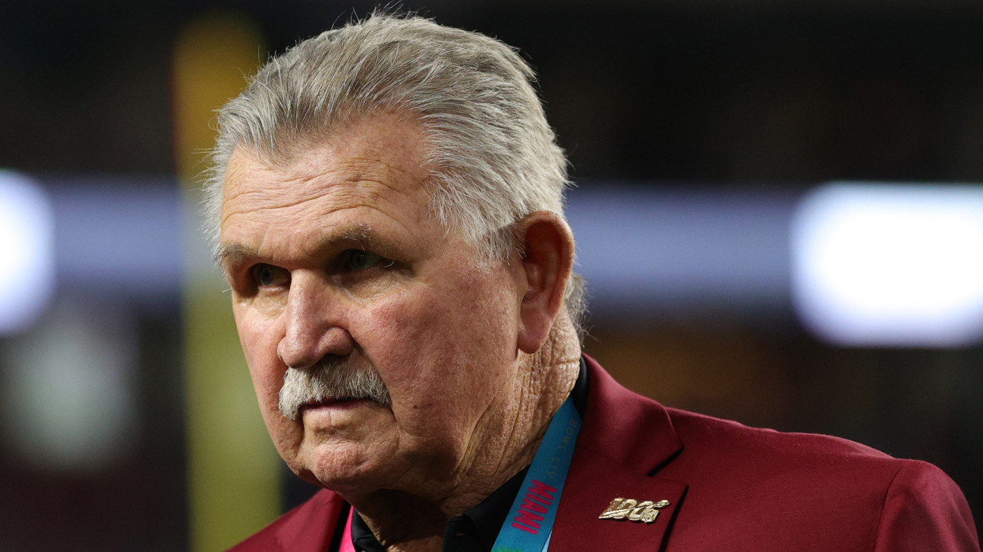 Mike Ditka of the NLF 100 All-Time Team