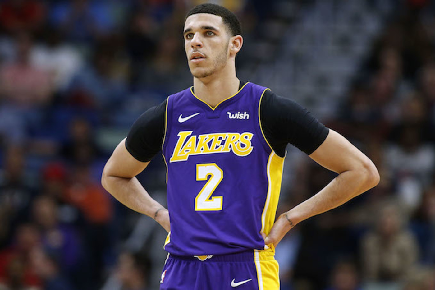 Draft Lonzo Ball to Lakers ...