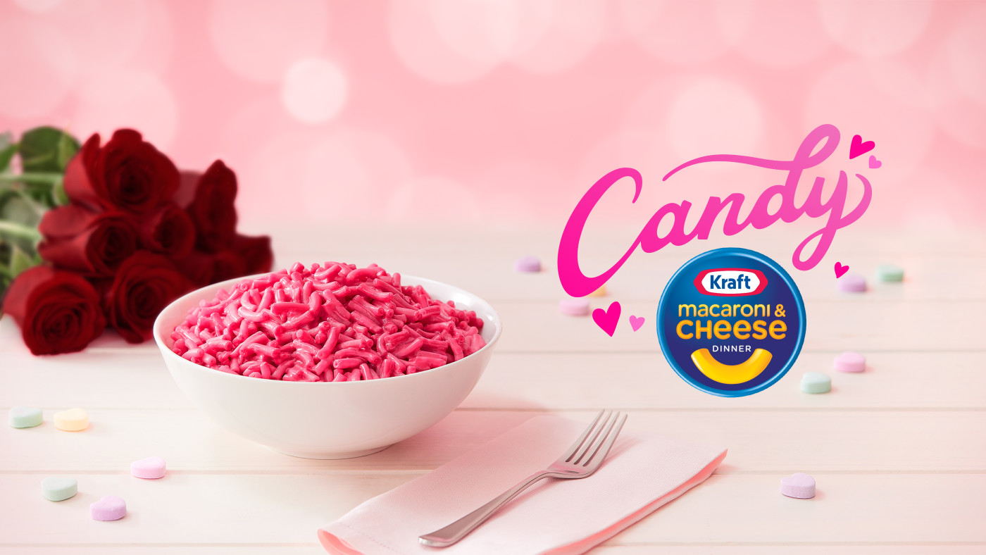 Kraft Candy Mac and Cheese