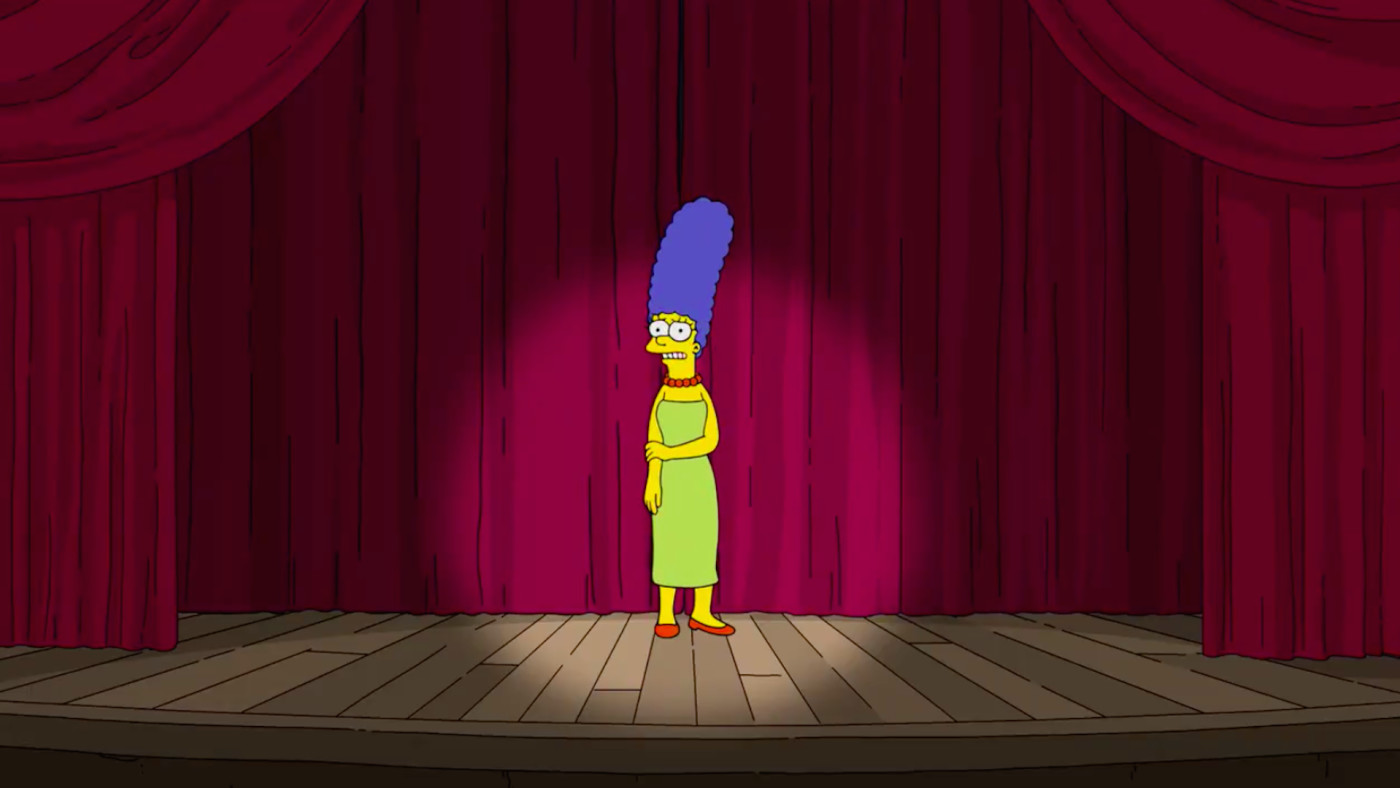 Marge Simpson has something to say.