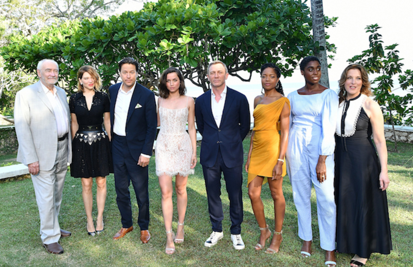 """""""Bond 25"""" cast and crew attend film launch."""