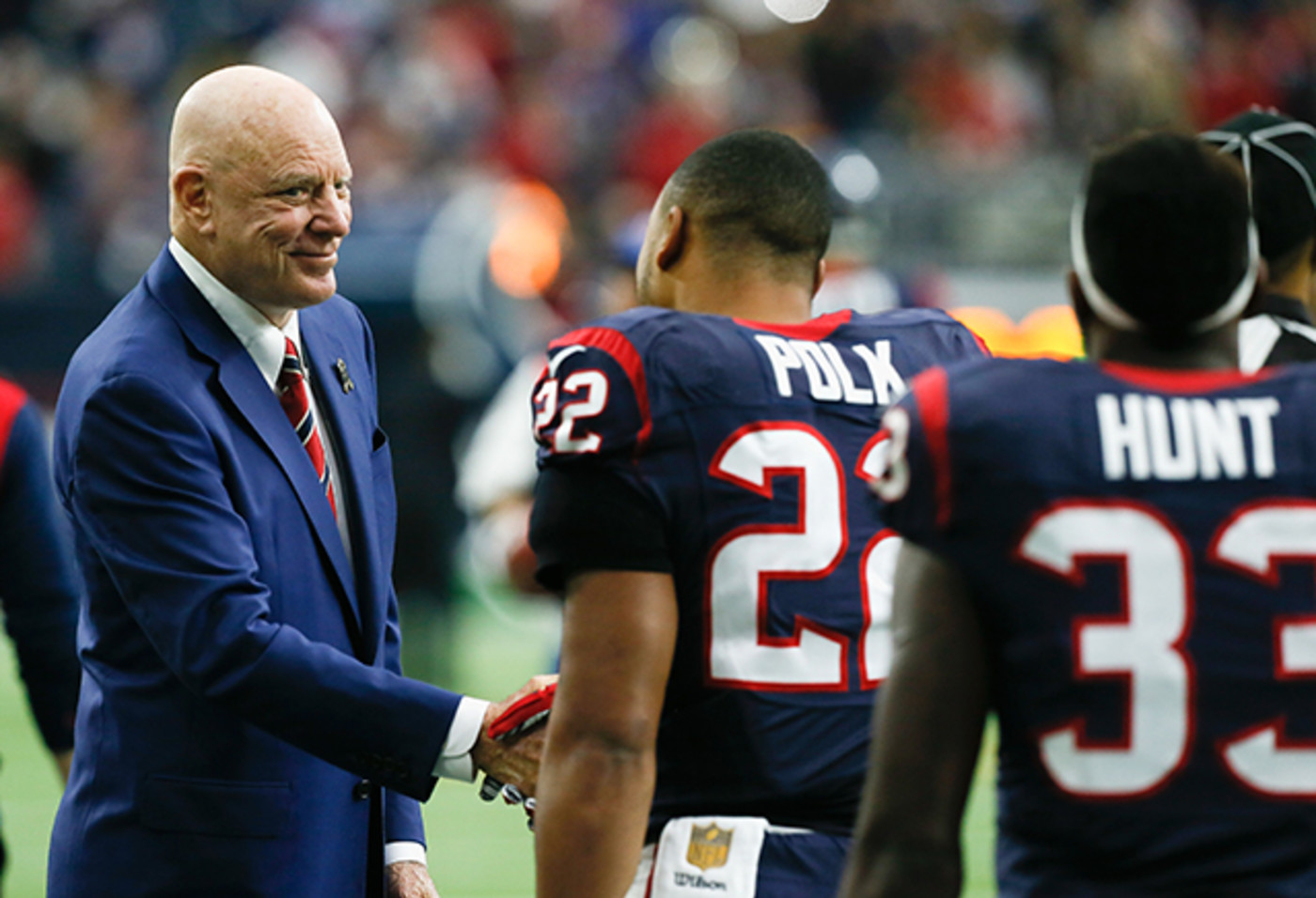 Bob McNair, owner of the Houston Texans
