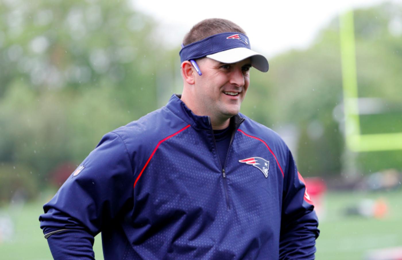 New England Patriots special teams coach Joe Judge
