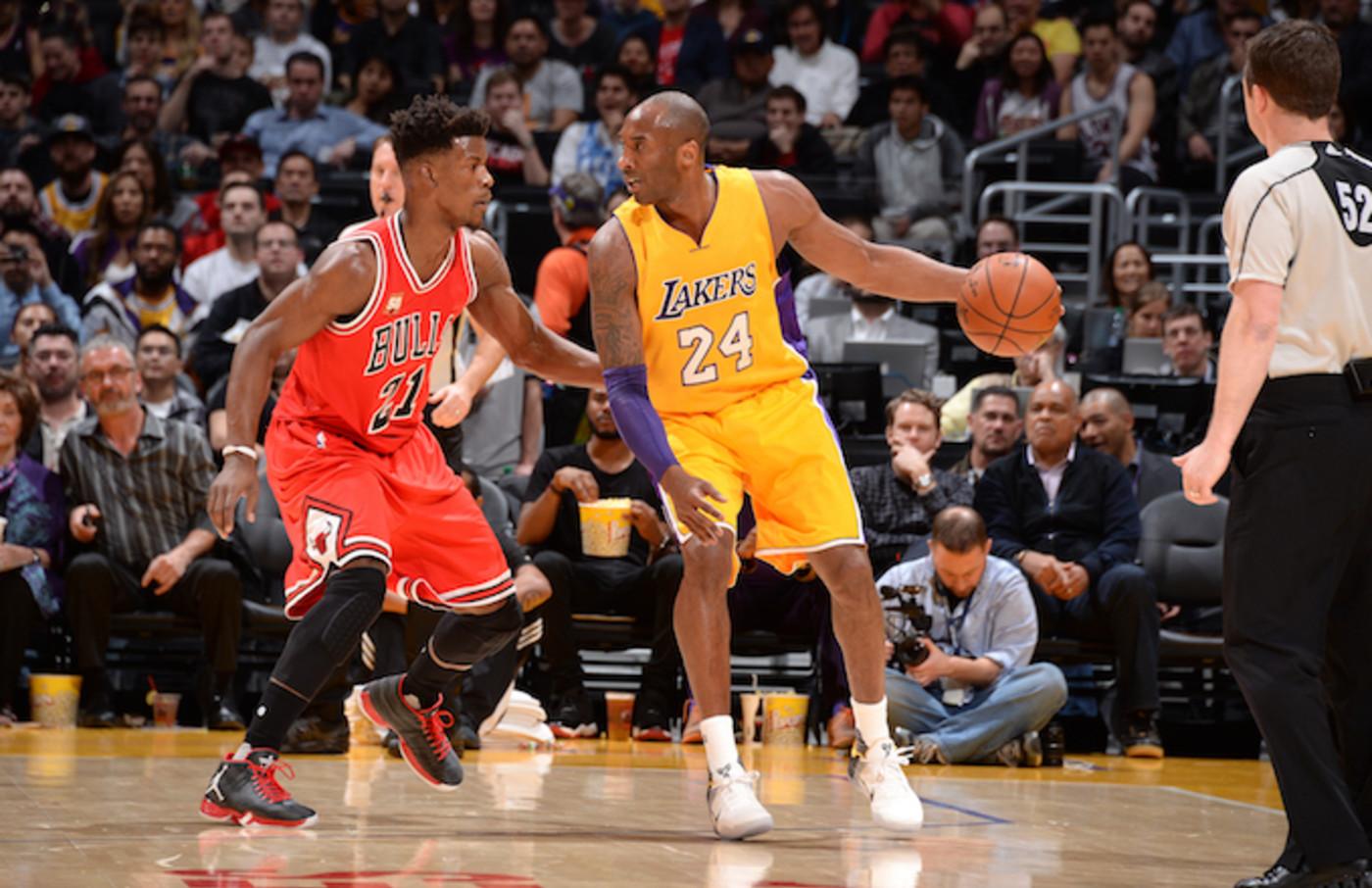 Jimmy Butler, Kobe Bryant