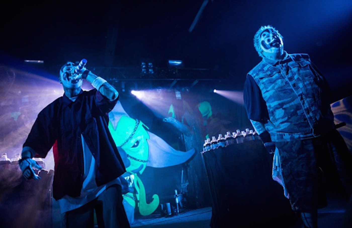Insane Clown Posse performs in concert at The Pressroom
