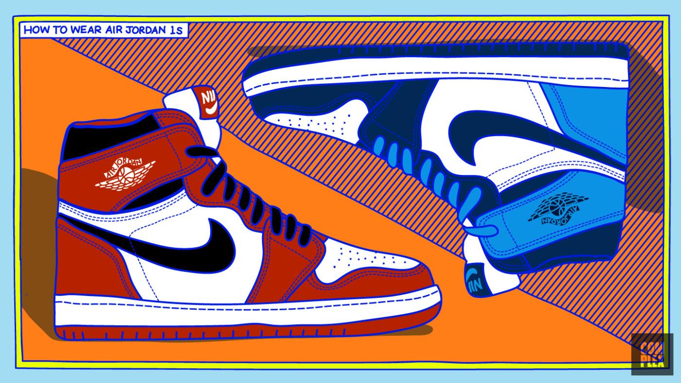 How to Wear Air Jordan 1s 7
