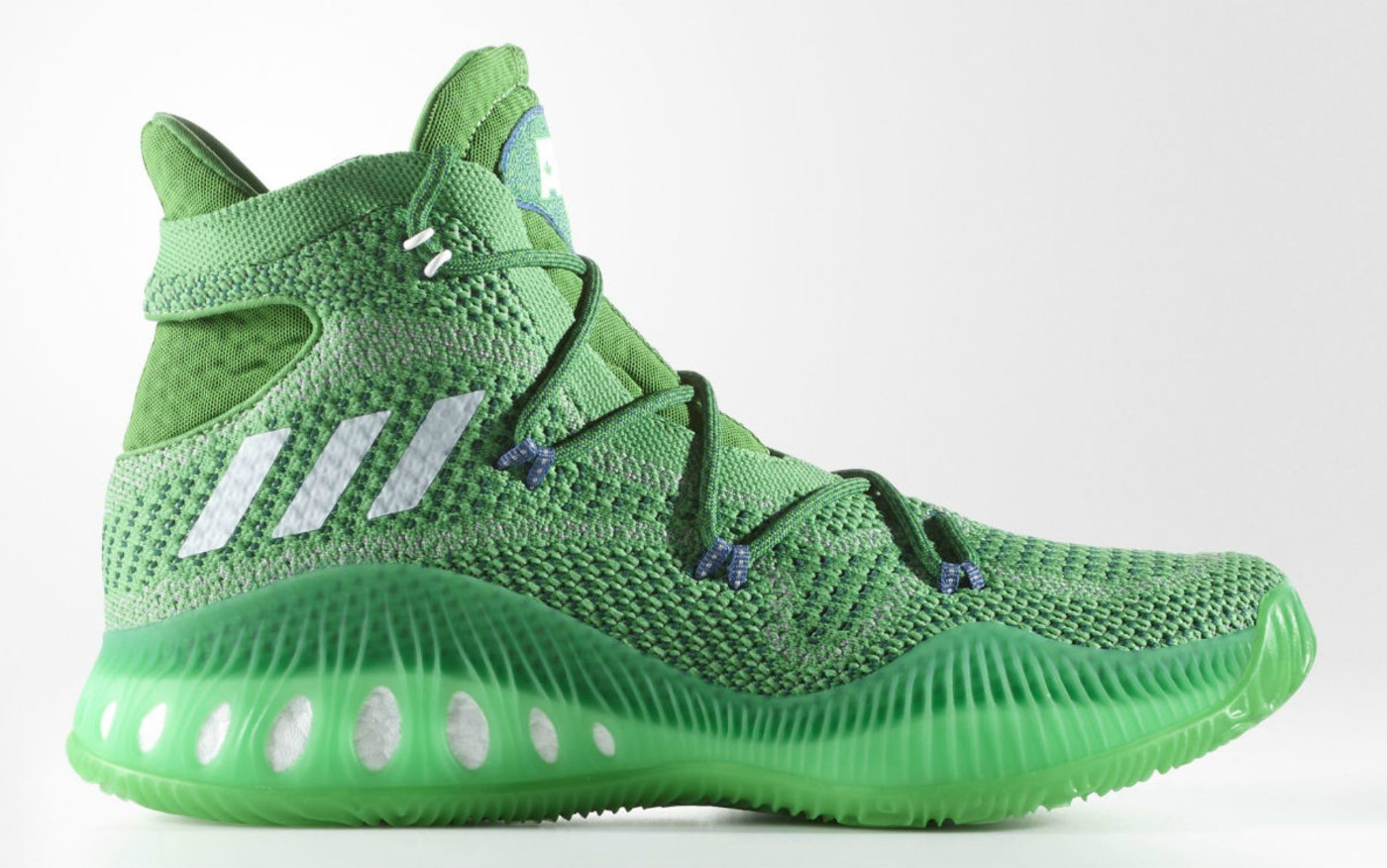 Adidas Crazy Explosive Andrew Wiggins Green Profile BW0626