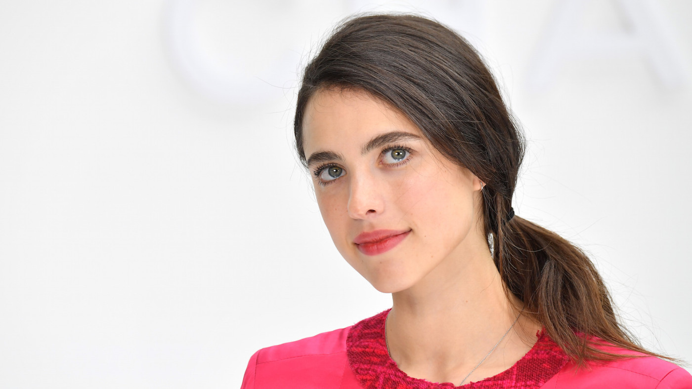 Margaret Qualley attends the Chanel show as part of the Paris Fashion Week