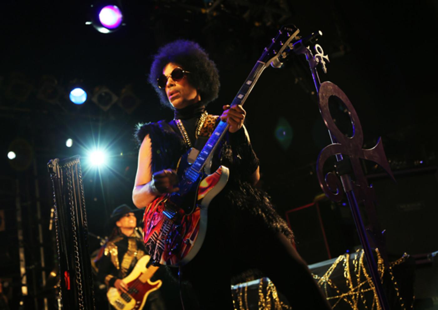 Prince live at Electric Ballroom UK