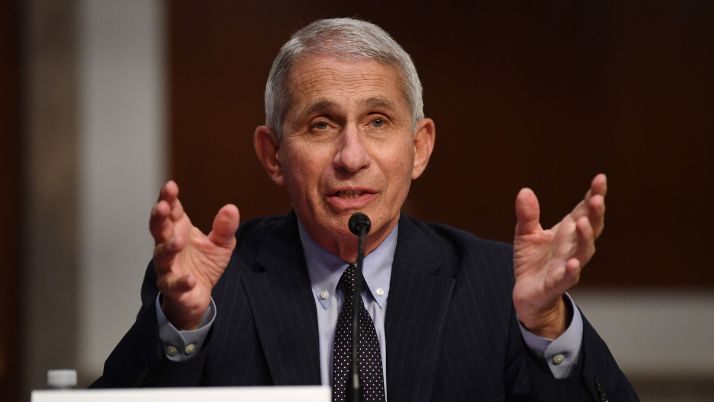 Dr. Anthony Fauci testifies before HELP Committee hearing.