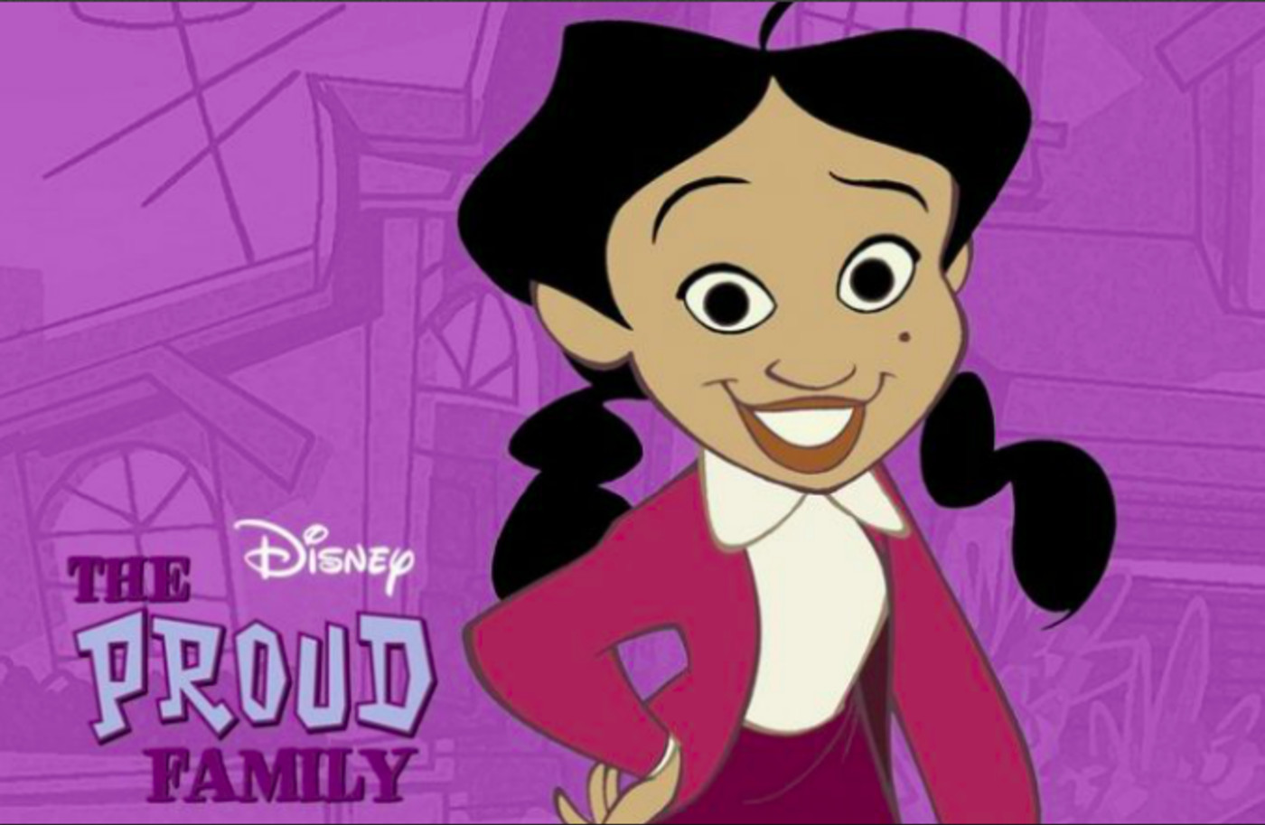 Penny Proud from 'The Proud Family'