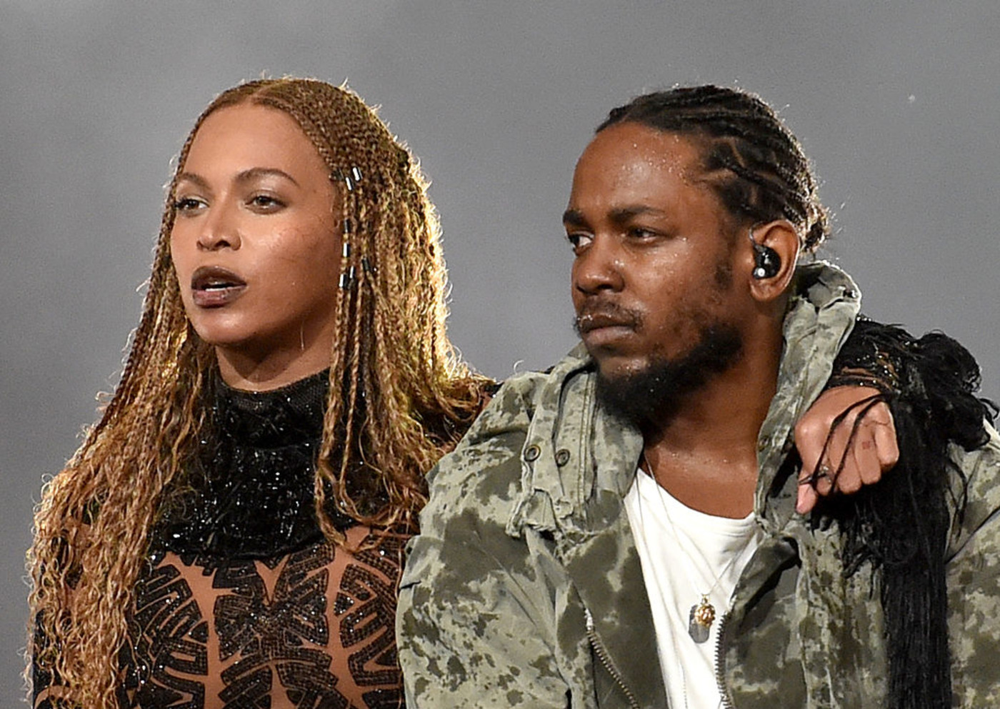Kendrick Lamar and Beyonce