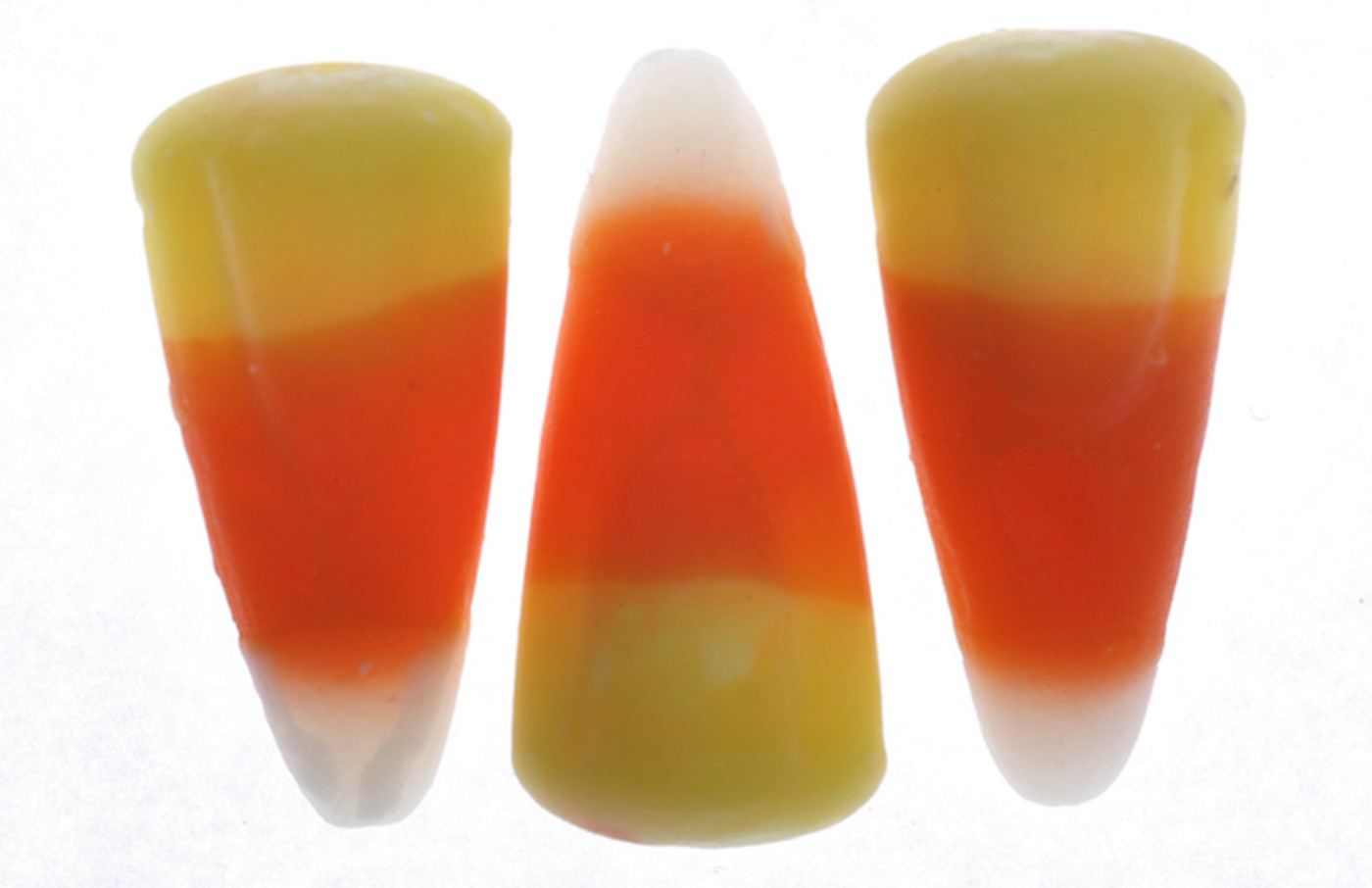Halloween candy corn for an illustration about the anatomy of a sugar rush.