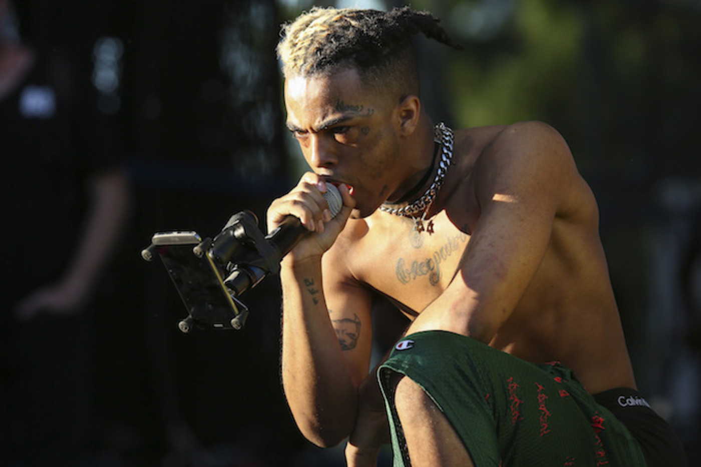 XXXTentacion performing in Miami