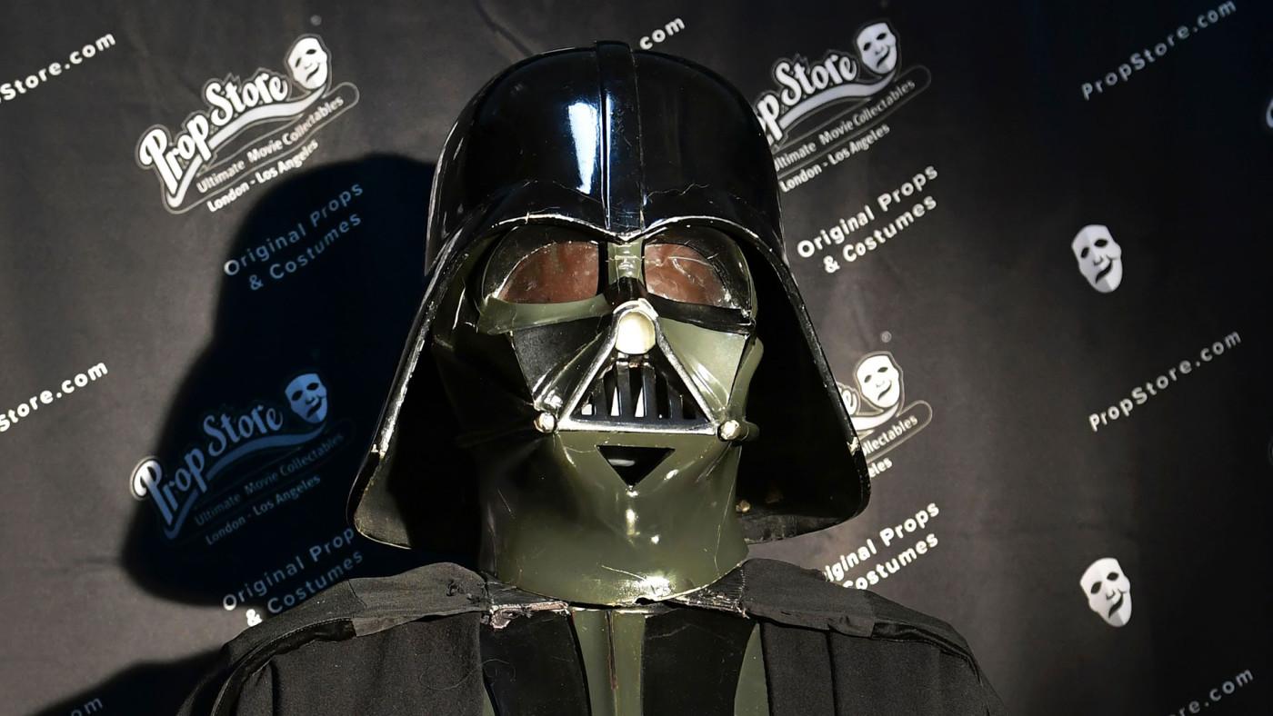 Darth Vader's helmet.