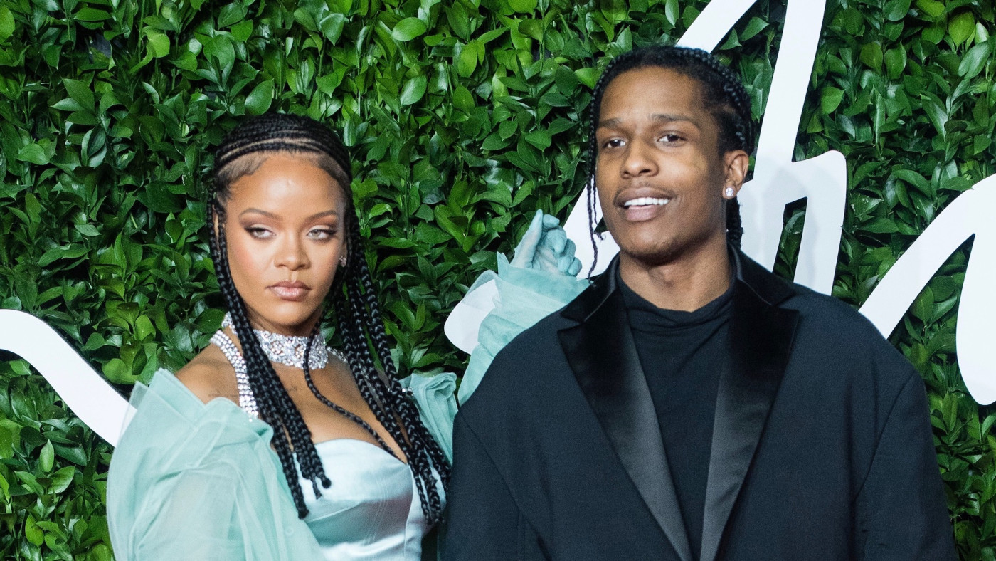 Rihanna and ASAP Rocky