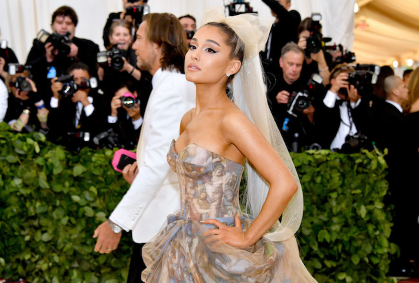 Ariana Grande at the Met Ball