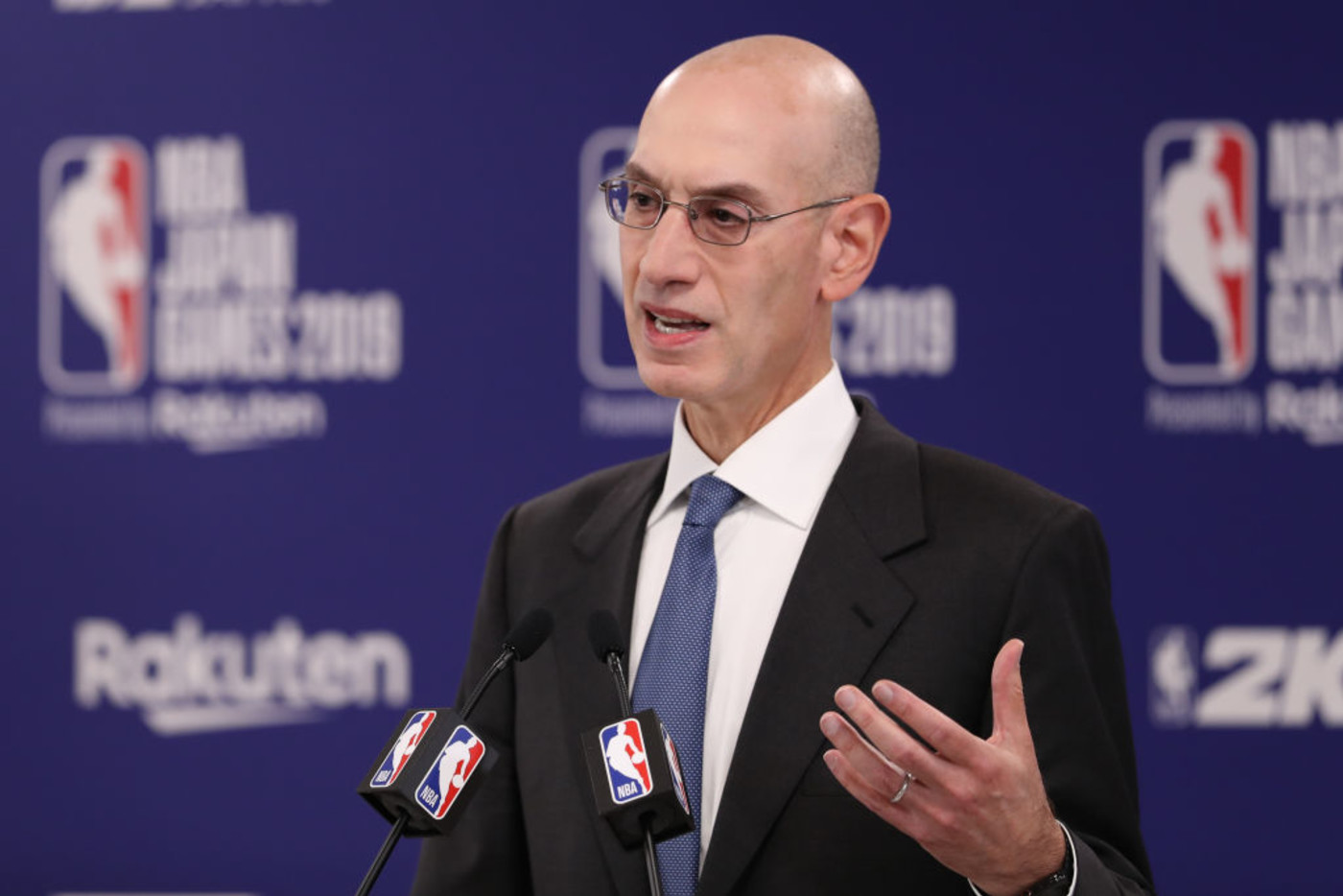 Adam Silver NBA Japan Oct 2019 Getty