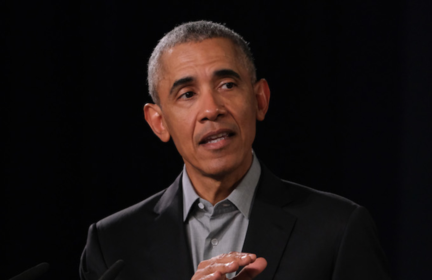 Barack Obama speaks to young leaders from across Europe in a Town Hall-styled session.