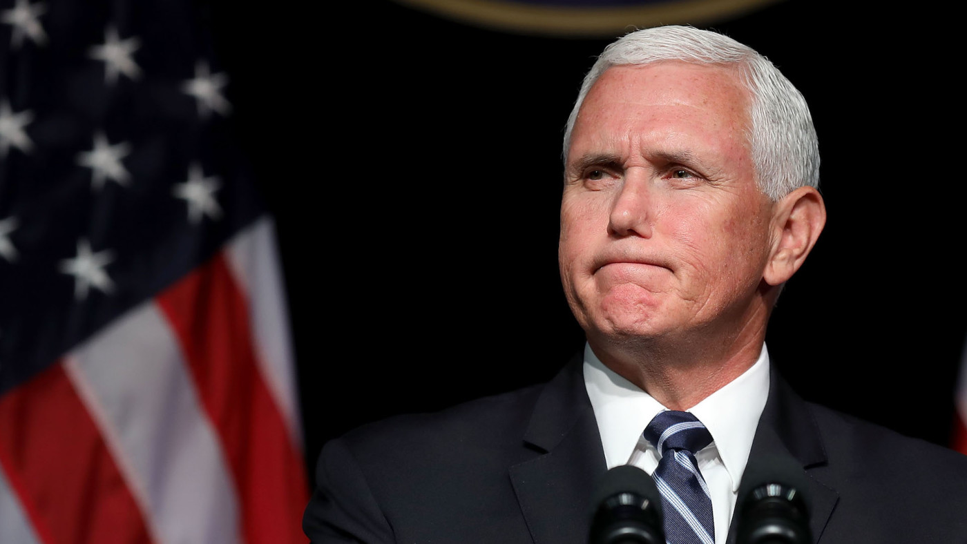 Mike Pence announces the Trump Administration's plan to create the U.S. Space Force.