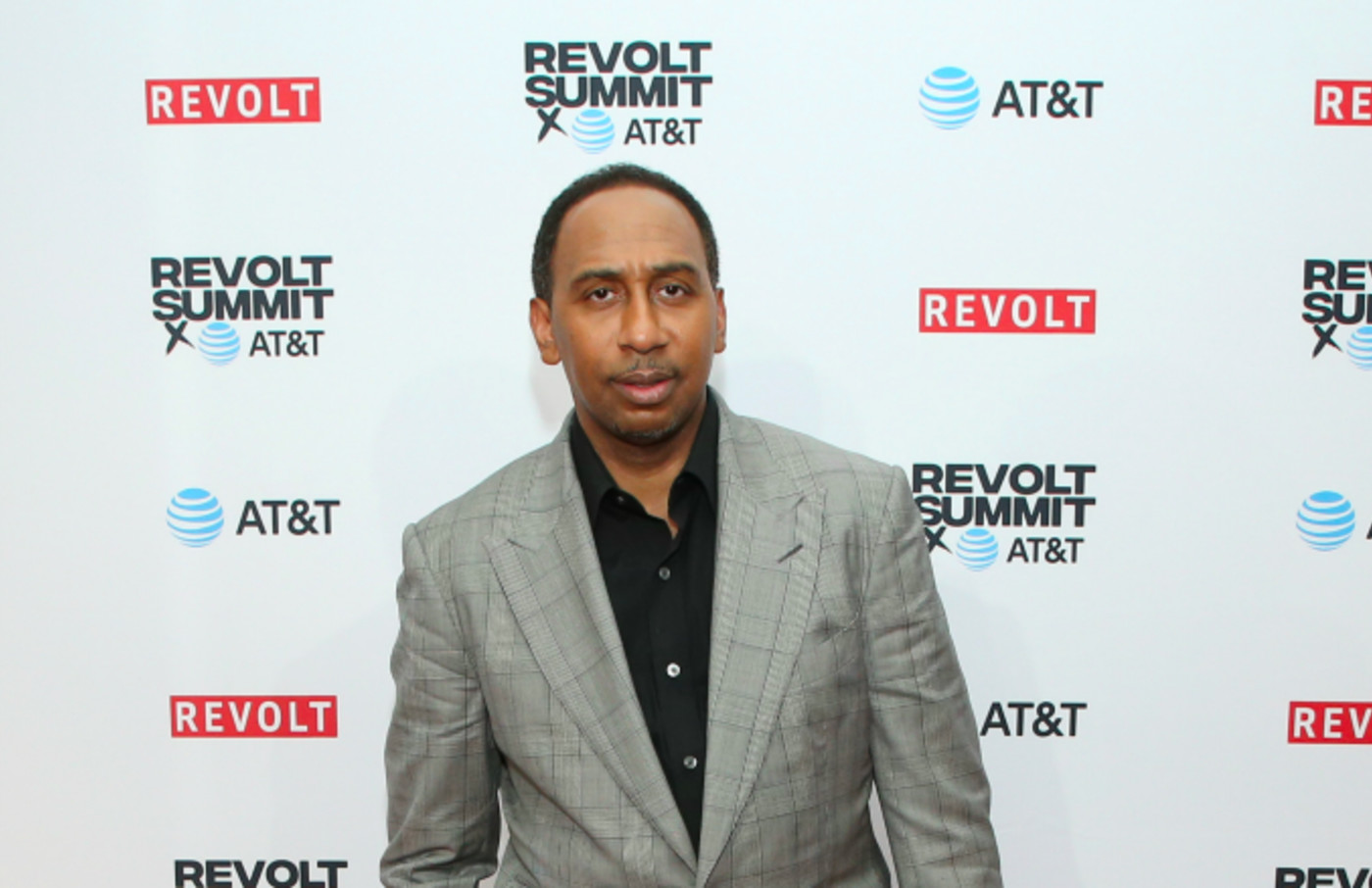 Stephen A. Smith attends the REVOLT X AT&T Host REVOLT Summit