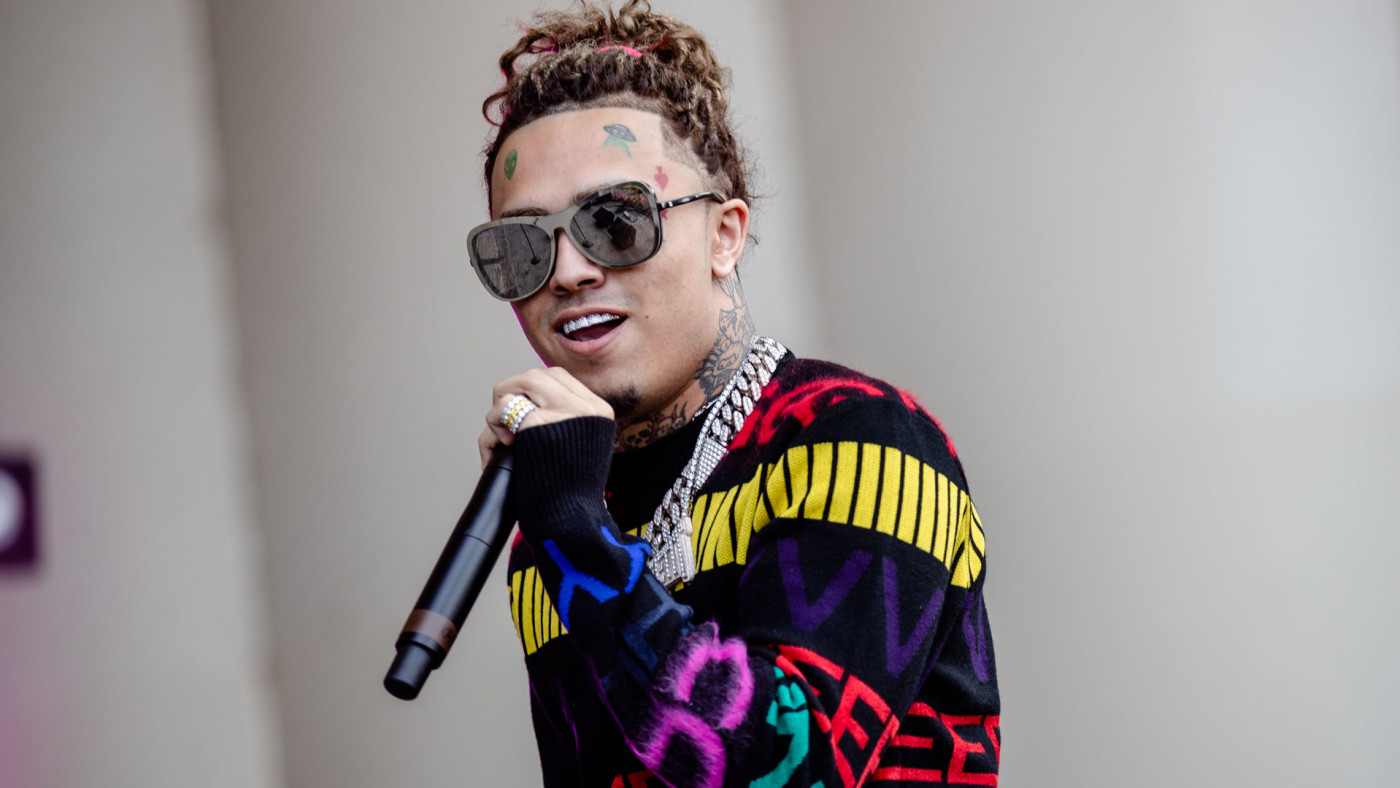 Lil Pump performs at Lollapalooza 2018
