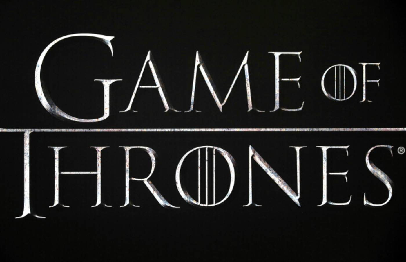 Close up of the Game of Thrones logo