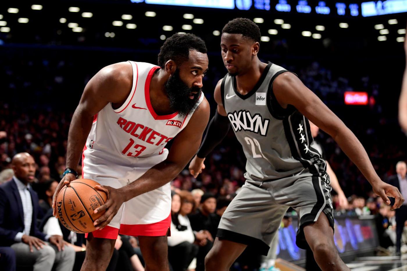 James Harden Caris LeVert Nets Rockets 2021