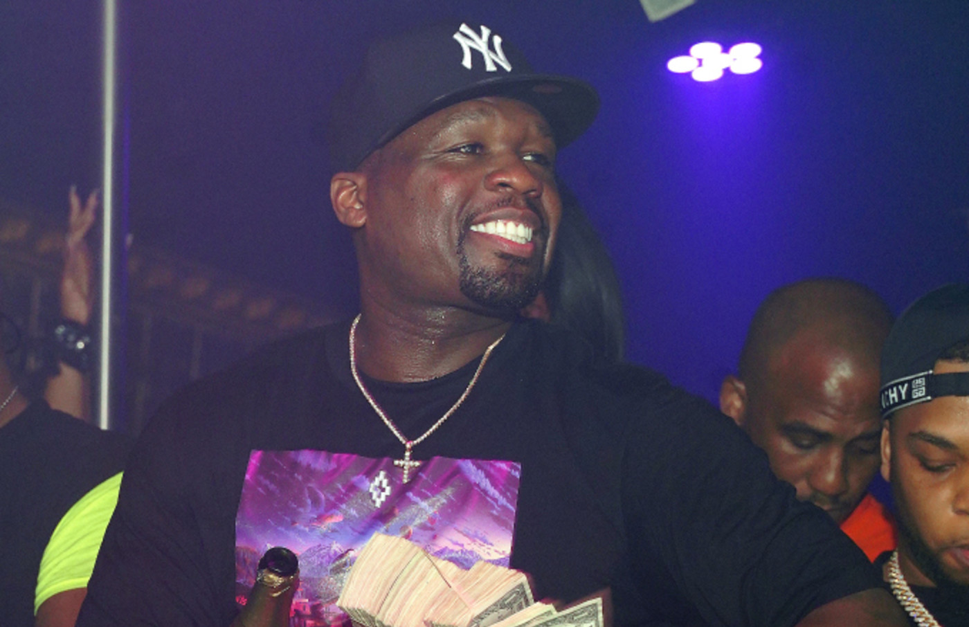50 Cent attends Tycoon Weekend Grand Finale