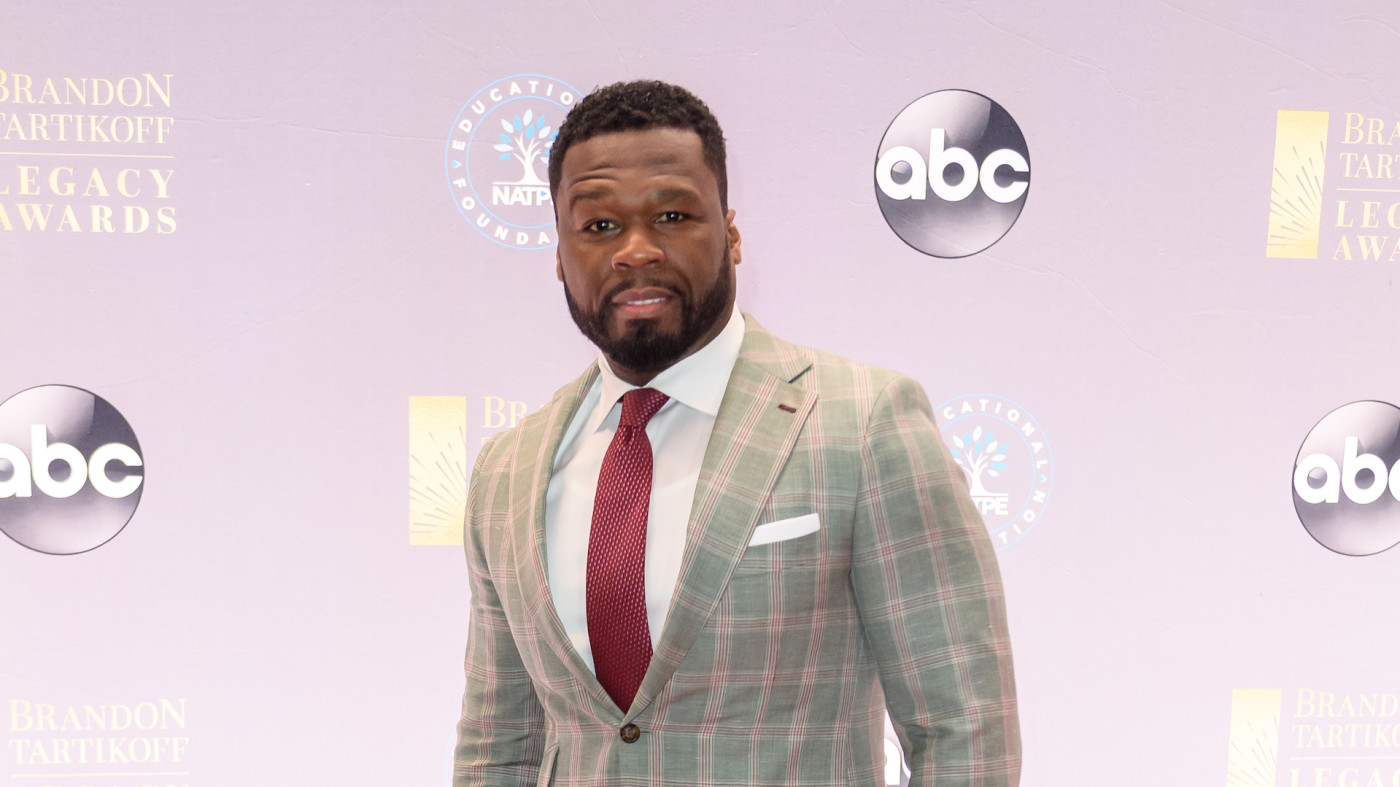 50 Cent arrives at NATPE Miami 2020