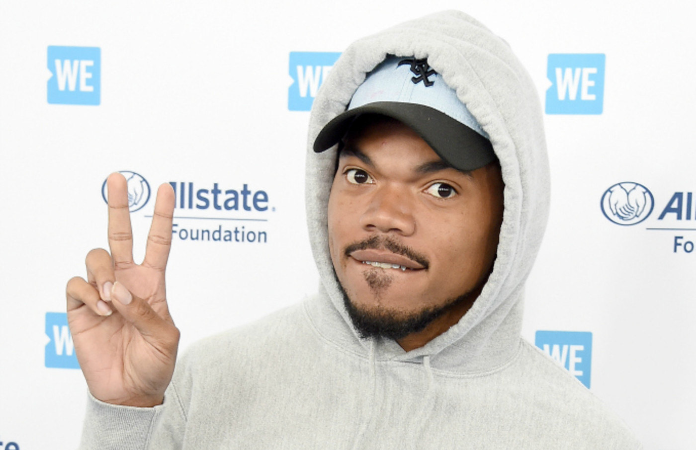 Chance The Rapper arrives at WE Day California 2019