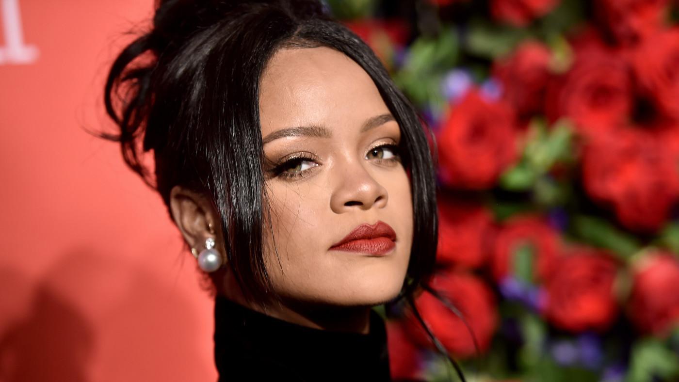 Rihanna attends Rihanna's 5th Annual Diamond Ball.