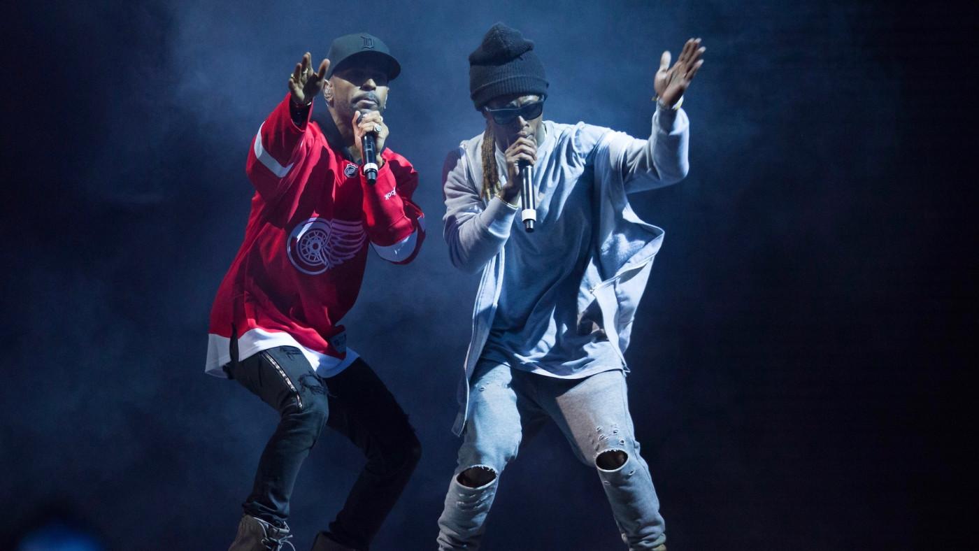 Lil Wayne and Big Sean