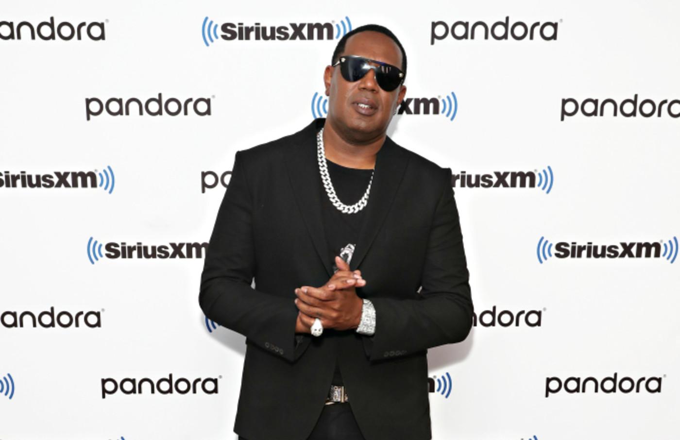 Rapper Master P visits the SiriusXM Studios